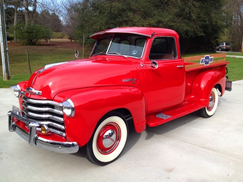 1950 Chevrolet 5 Window Deluxe Cab SOLD