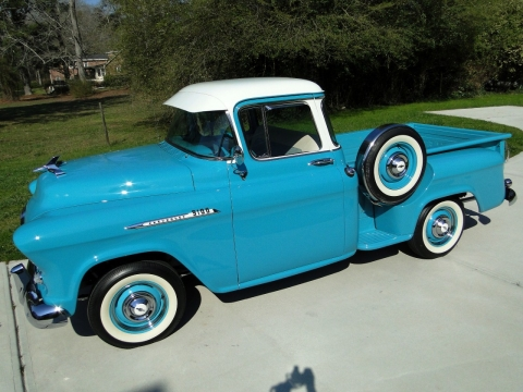 1956 Chevrolet Pickup Deluxe Cab (SOLD)