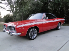 1969 Plymouth Barracuda  SOLD