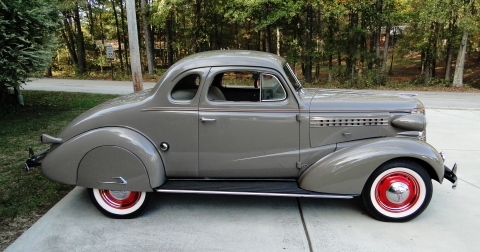 1938 Chevrolet Deluxe Business Coupe