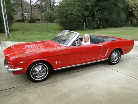1965 Mustang Convertible    SOLD