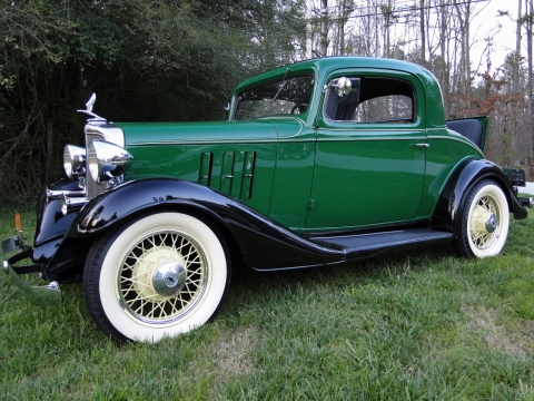 Chevrolet 1933 Rumble Seat Coupe