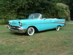 1957 Chevrolet Convertible (SOLD)