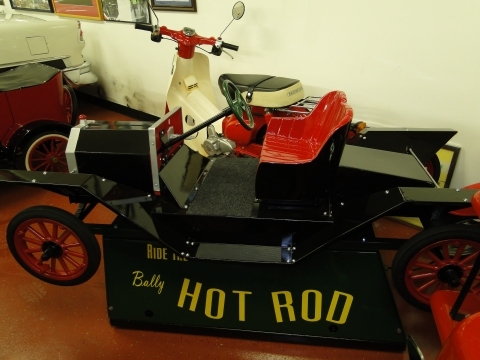 1950's Model T Kiddy Ride Restored