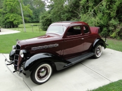 1935 Plymouth Rumble Seat Coupe